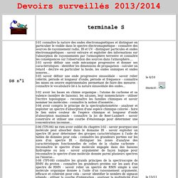 devoirs 723 - 2013/2014