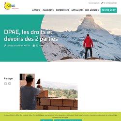 DPAE, les droits et devoirs des 2 parties - Arobase Interim