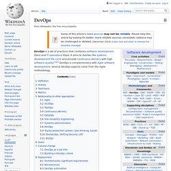 DevOps Wiki