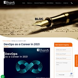 Learn DevOps to Boost Your Career in 2021