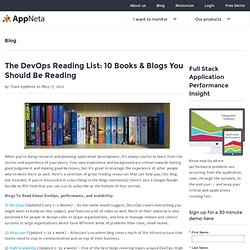 The DevOps Reading List: 10 Books & Blogs