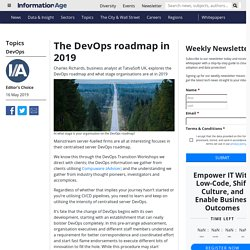 The DevOps roadmap in 2019 — at what stage is your organisation?