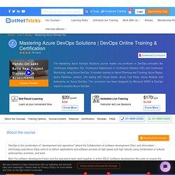 Best DevOps Training & Certification Course - DevOps Online Course