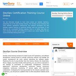Devops Certifications Course
