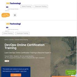 DevOps Online Training and Certifications