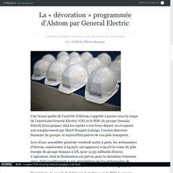 La «dévoration» programmée d'Alstom par General Electric