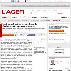 Sanofi devrait retrouver un niveau de valorisation en ligne avec le secteur
