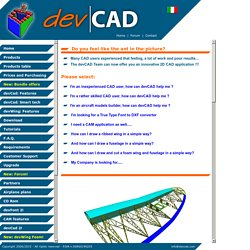 Cad and Cam applications