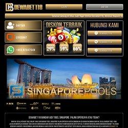 Dewabet118 : Judi Togel Singapore, Situs Togel SGP