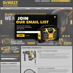 Power Tools, Contractor Tools and Accessories