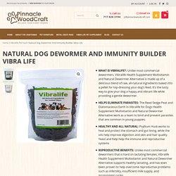 Natural Dog Dewormer