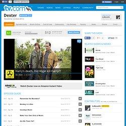 Dexter on TV.com