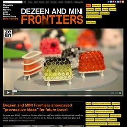 Movie: Dezeen and MINI Frontiers exhibition exhibition round-up