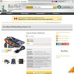DFRobotShop Rover V1.5 - Robot à Chenilles Compatible Arduino (Kit XBee)
