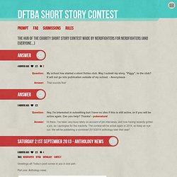 DFTBA Short Story Contest