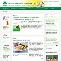 Deutsche Gesellschaft für Ernährung - dge.de