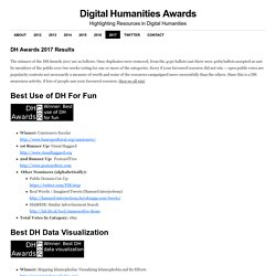 DH Awards 2017 Results