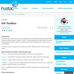 DH Toolbox