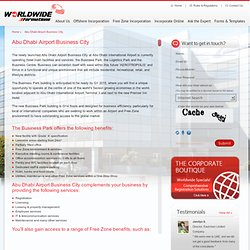 WWFL Abu Dhabi Airport Free Zone (ADAFZ)