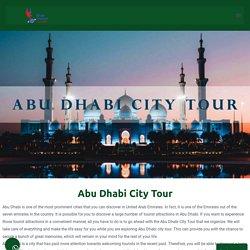 City tour Abudhabi