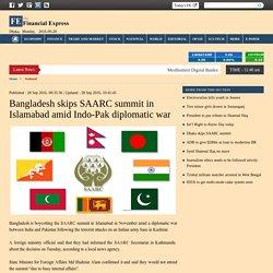 Dhaka skips SAARC summit