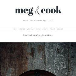 Dhal de lentilles corail - Meg&cook