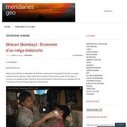 Dharavi (Bombay) : Économie d'un méga-bidonville