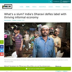 Informal sector: The thriving economy of one of Asia's biggest slums