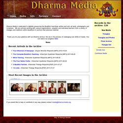 Dharma Media - Rime Buddhist Archives