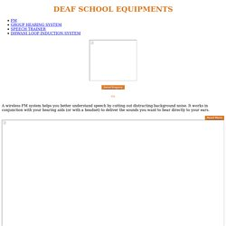 DhwaniAurica deaf school equipments Manufacturer and Supplier in Mumbai