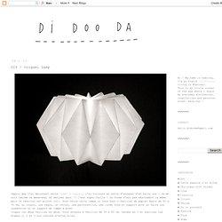 DIY / Origami Lamp