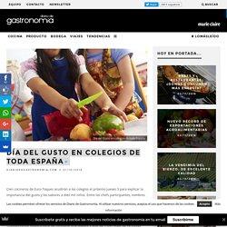 Día del Gusto en colegios de toda España