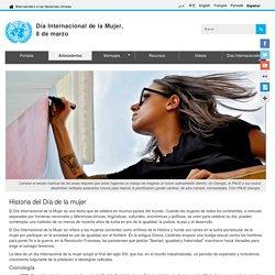 Día Internacional de la Mujer,<br>8 de marzo