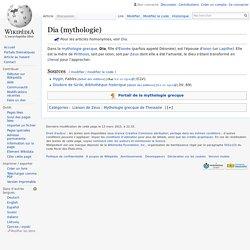 Dia (mythologie)