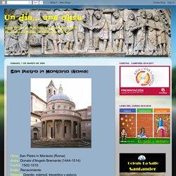 Un día... una obra: San Pietro in Montorio (Roma)