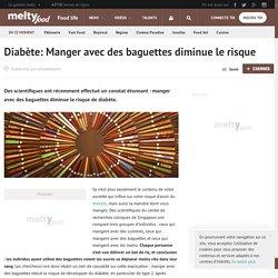 Diabète: Manger avec des baguettes diminue le risque