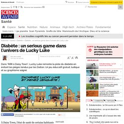 Diabète : un serious game dans l'univers de Lucky Luke