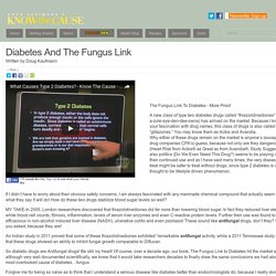 Diabetes And The Fungus Link