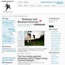 Diabetes and Barefoot Exercise