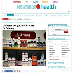 Diabetes Drug Linked to B12 Deficiency