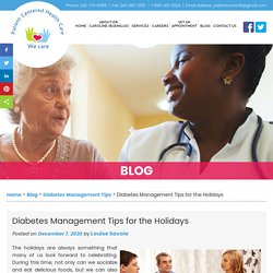 Diabetes Management Tips for the Holidays