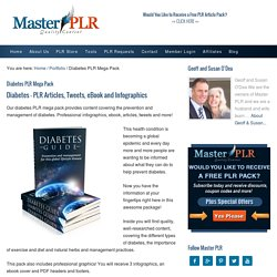 Diabetes PLR Mega Pack