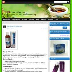 Jamsi Jamu Diabetesi » Toko Herbal Semarang