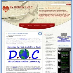 My Diabetic Heart » Blog Archive » A DOC Logo – Diabetes Art Day