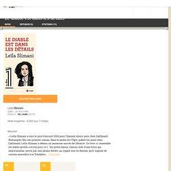 Le diable est dans les détails - Leïla Slimani