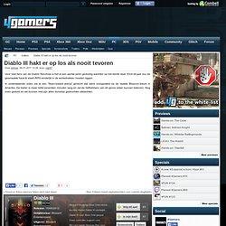Diablo III hakt er op los als nooit tevoren