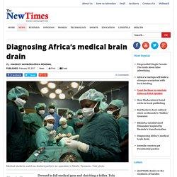 Diagnosing Africa's medical brain drain