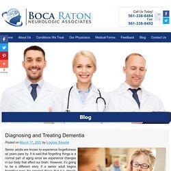 Diagnosing and Treating Dementia