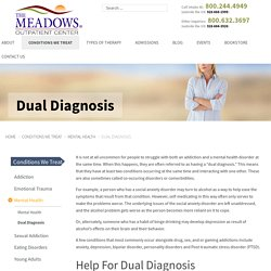 Dual Diagnosis Outpatient Treatment - Dual Diagnosis Treatment Center Arizona