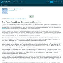The Facts About Dual Diagnosis and Recovery